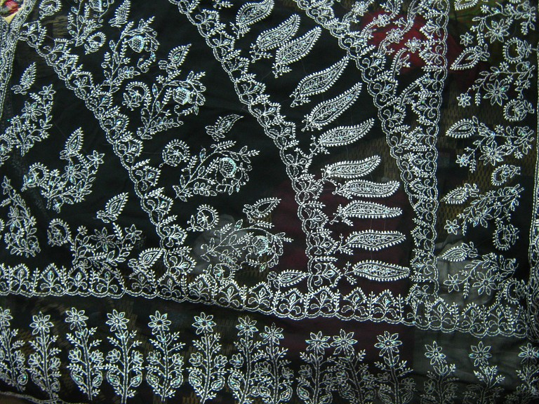 Chikan embroidery,Lucknow | © आशीष भटनागर/WikiCommons
