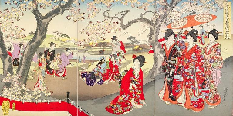 Chikanobu via Wikimedia Commons