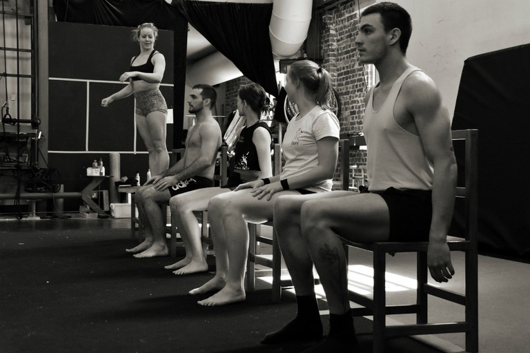 Closer by Cira rehearsal shot   © Jessica Connell