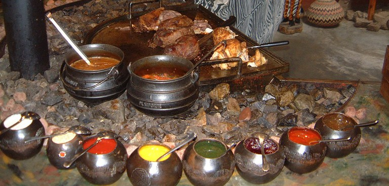 A typical African feast!