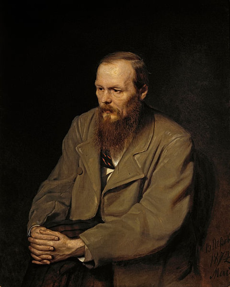 Portrait of Fedor Dosotyevsky© Google art project/ WikiCommons