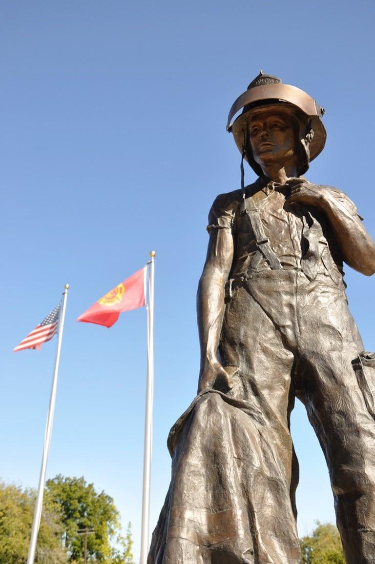 Jim Burks Firefighters Memorial Park | © Courtesy of Dwayne Wilson