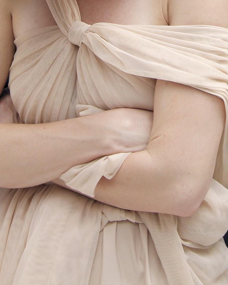 "Sarah Allen Eagen, Death Becomes Her, photograph on silk, 28"" x 36"" | © Sarah Allen Eagen"
