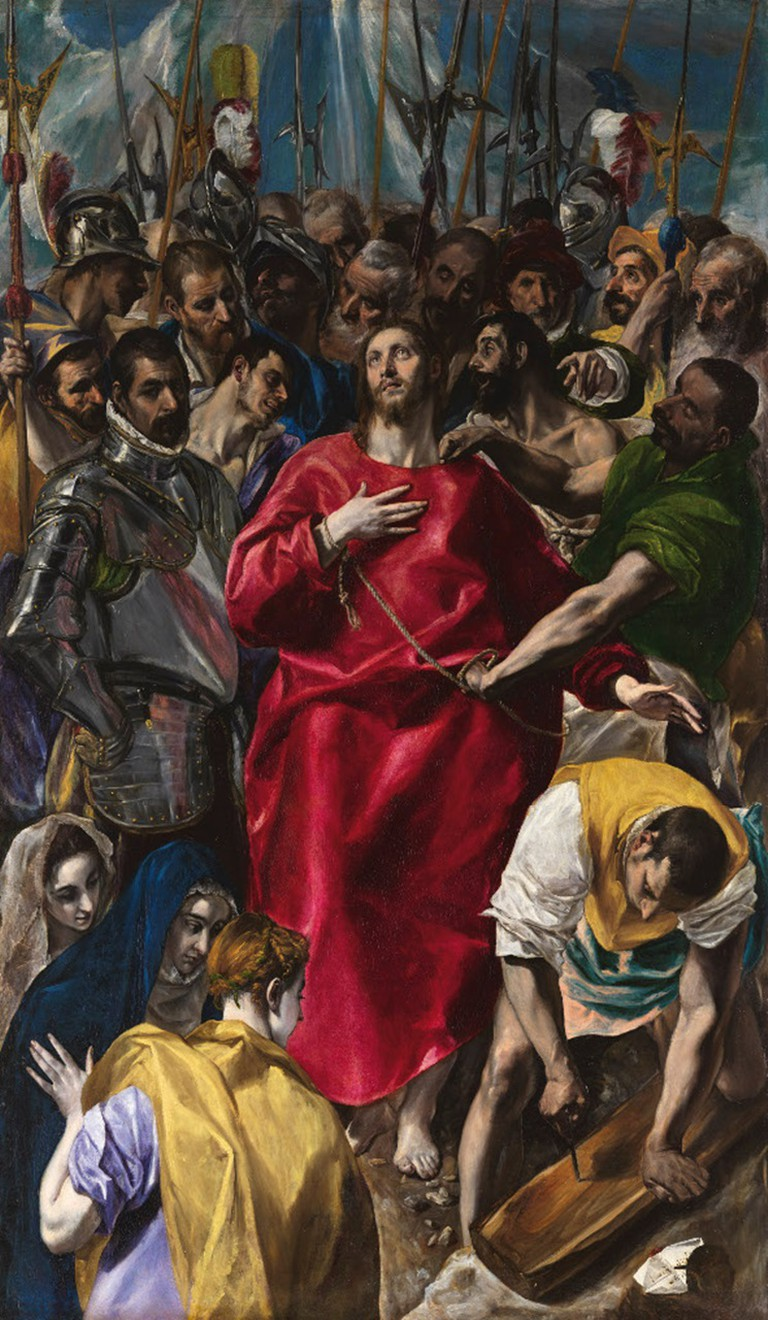 El Greco, The Disrobing of Christ, 1577-79
