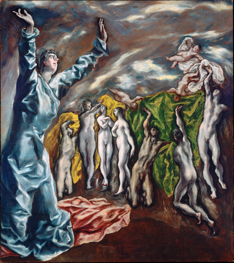 El Greco, The Opening of the Fifth Seal, 1609-14