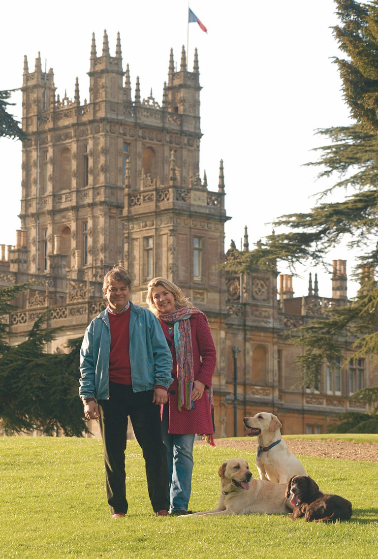 Highclere Castle Lord & Lady Carnarvon2