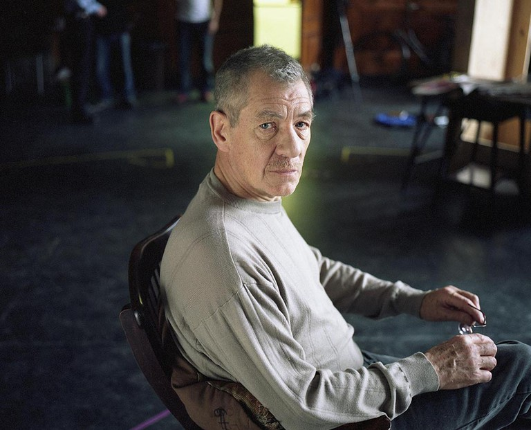 Ian McKellen, London, March 2003 | Courtesy of Eva Vermandel