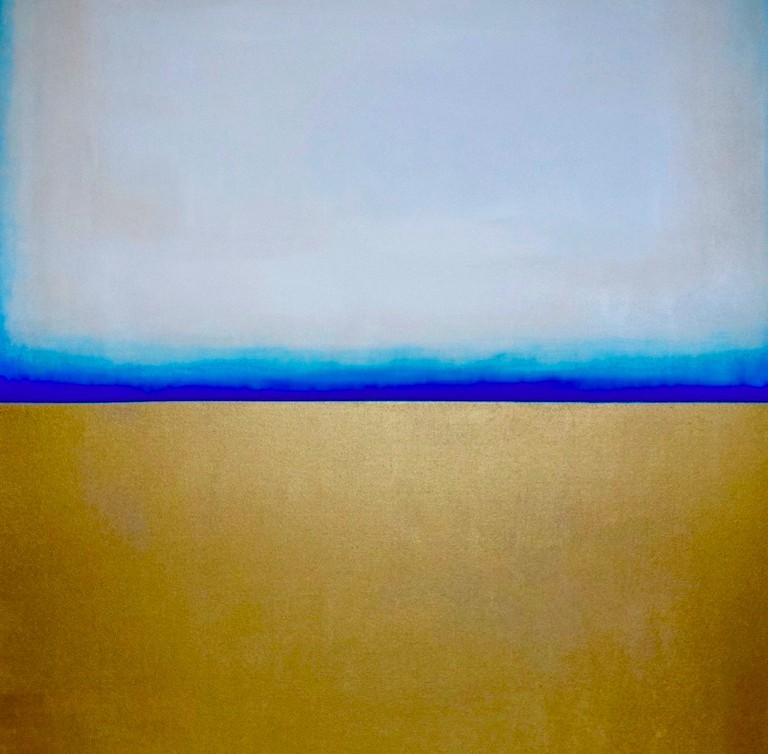 One of Michelle Tholen's color & form pieces