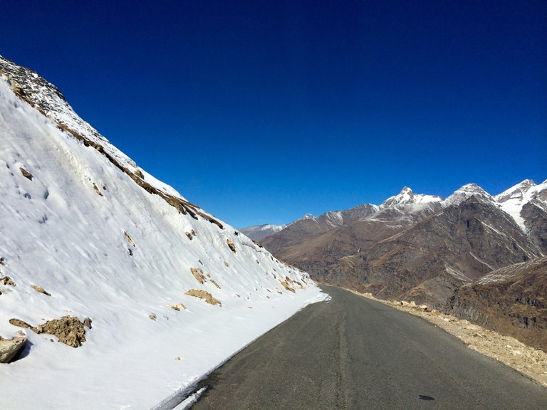 Arguably the most beautiful road in the world, the 480 km long Manali - Leh Highway