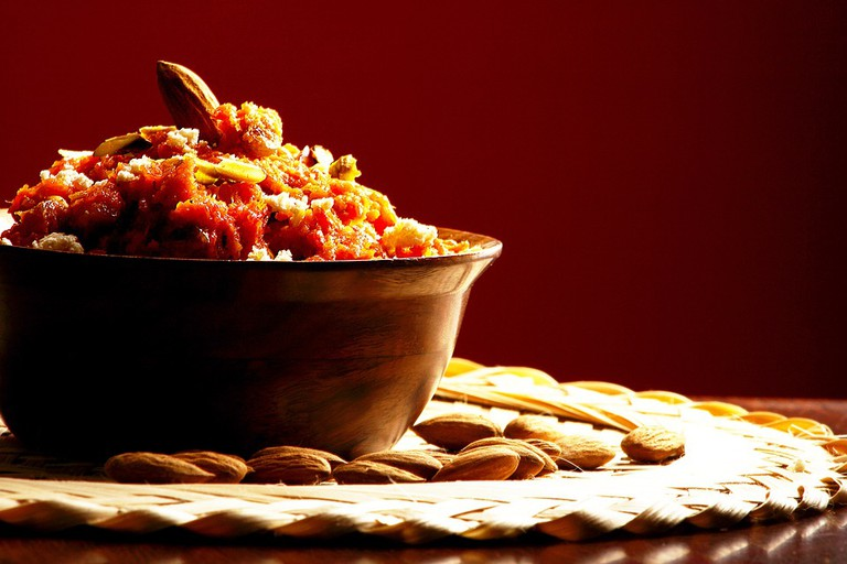 A sweet and nutty Indian dish
