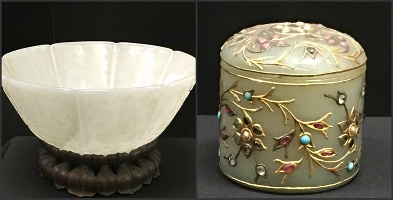 Jade Rice Bowl & Box