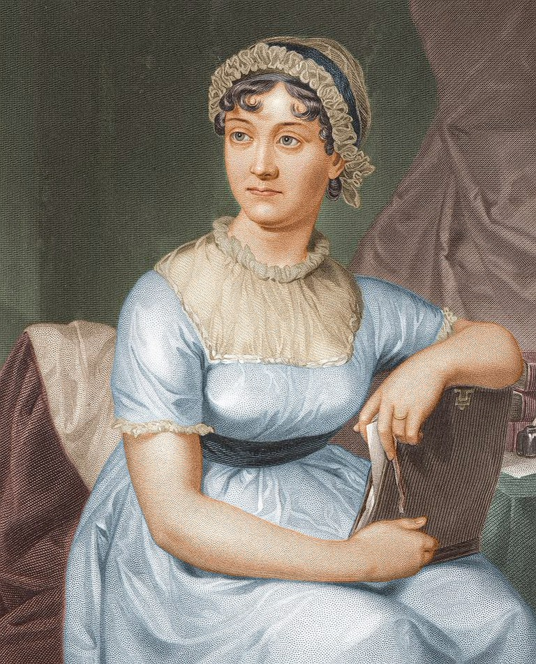 Jane Austen © University of Texas/[Public domain] via wikicommons