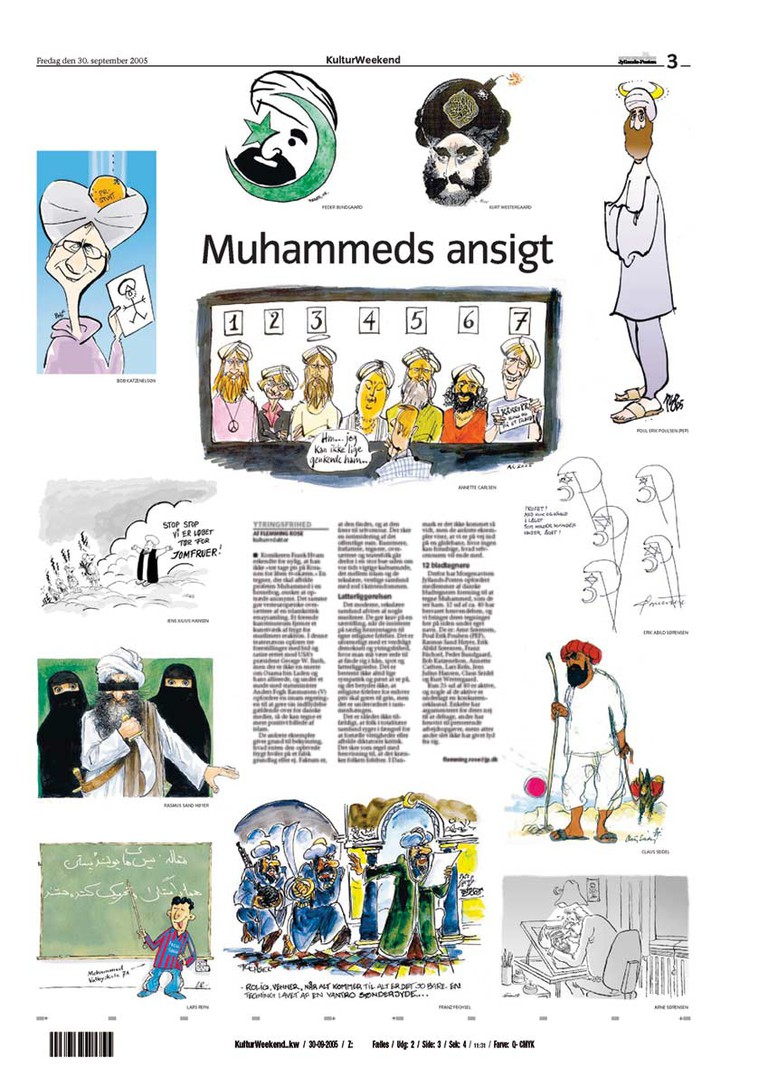 Jyllands-Posten Muhammad Cartoons