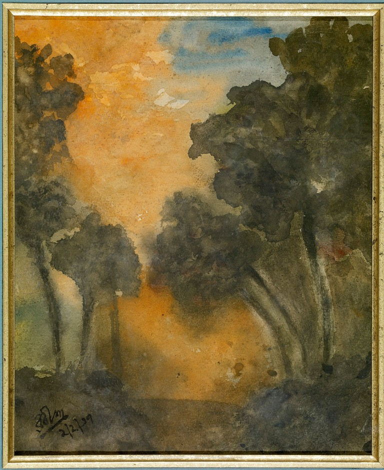Landscape by Rabindranath Tagore/©Rabindranath Tagore/WikiCommons
