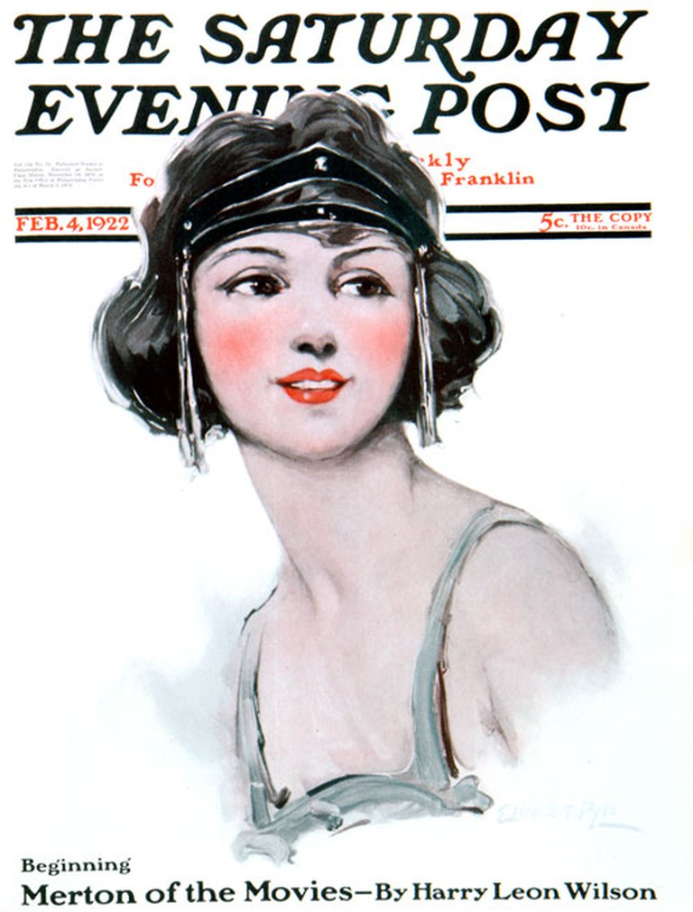 """Flapper"" on The Saturday Evening Post 
