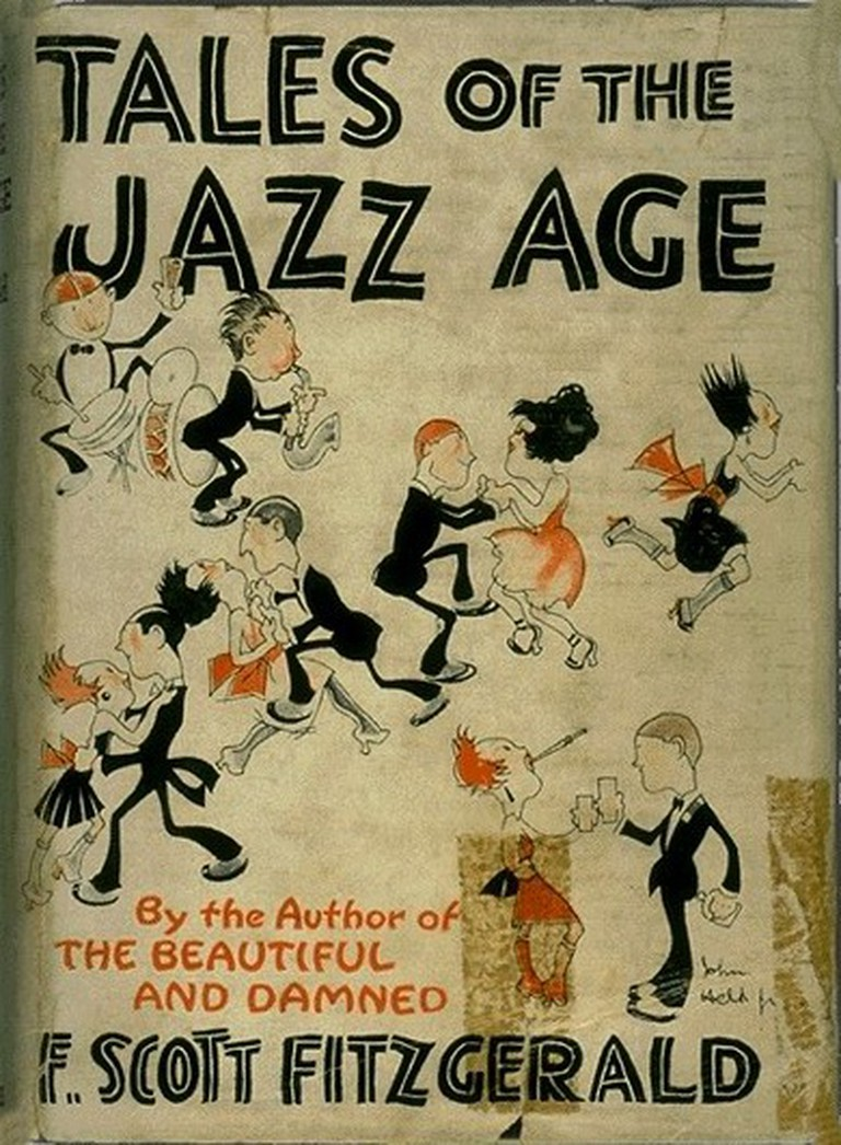Cover Artwork for Tales of the Jazz Age | © John Held, Jr./Wikicommons