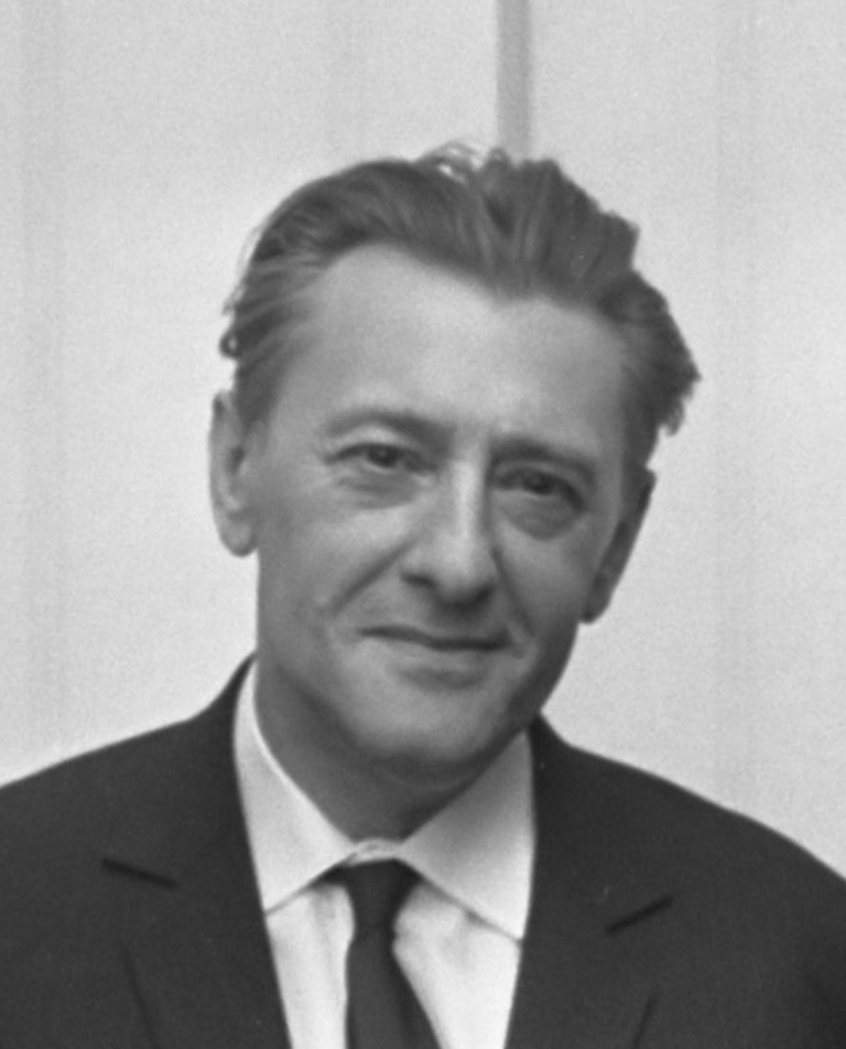Louis Paul Boon by Ben Merk, 1967/©WikiCommons