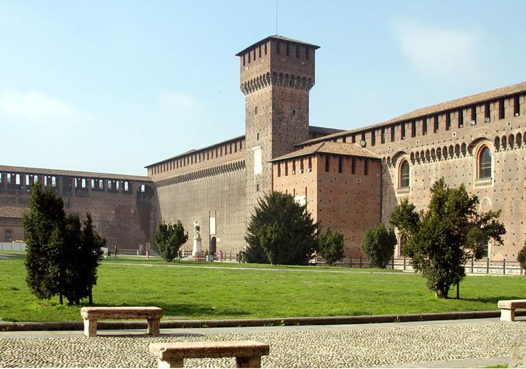 Castle Sforza, Milan | © José Luiz Bernardes Ribeiro/WikiCommons