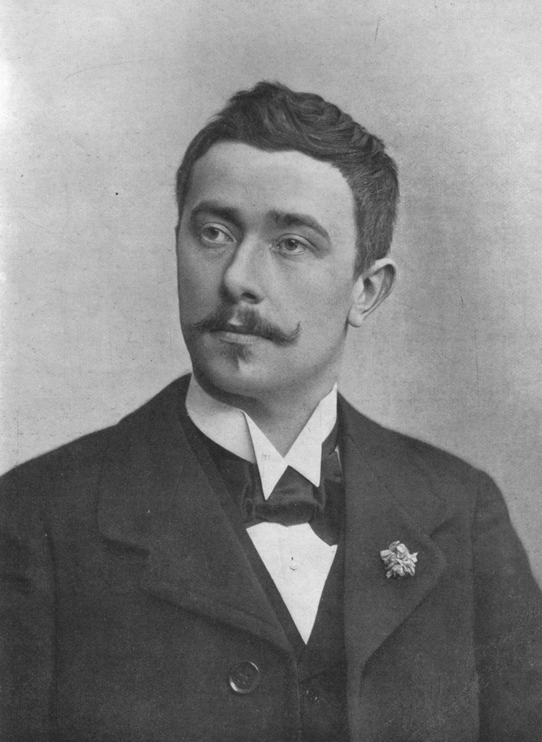 Maurice Maeterlinck, 1901/©WikiCommons