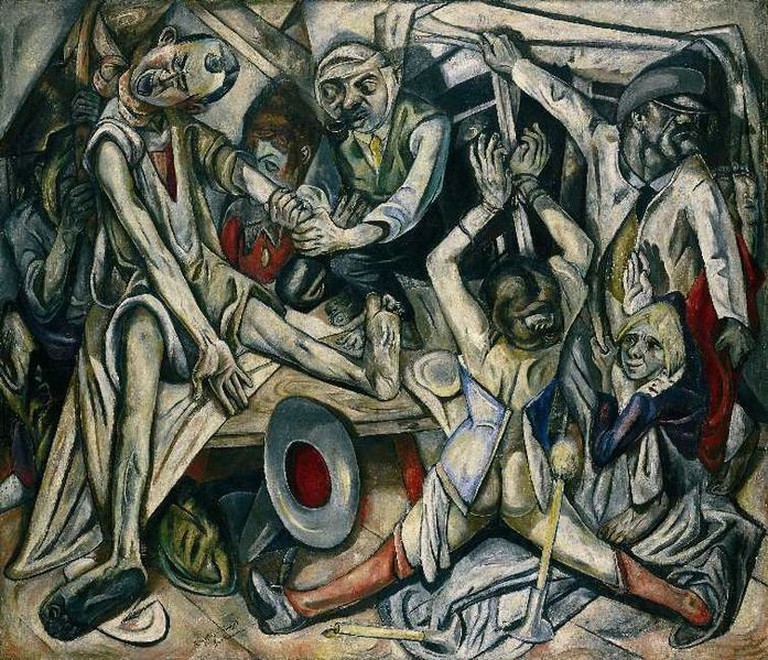 Max Beckmann, The Night, 1918-1919 © Coldcreation/Wikicommons