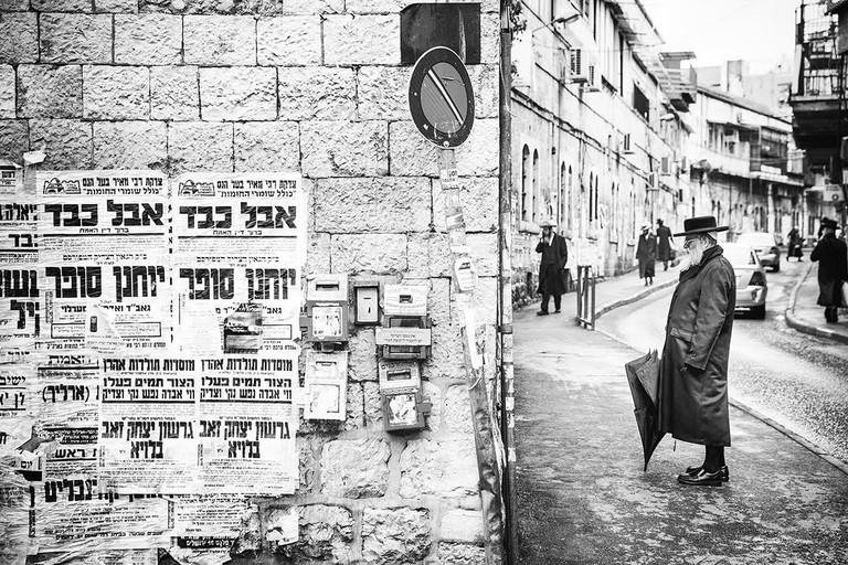 An Ultra-Orthodox Neighborhood in Jerusalem © Jörg Dickmann Photography