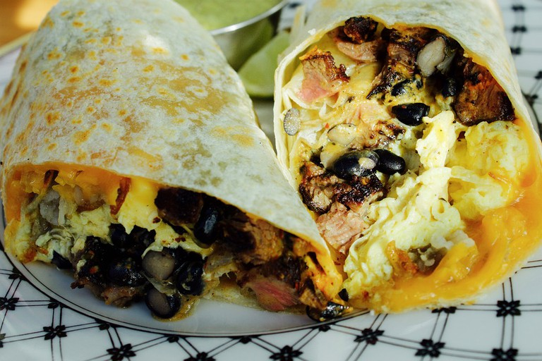 One of many Burrito varieties