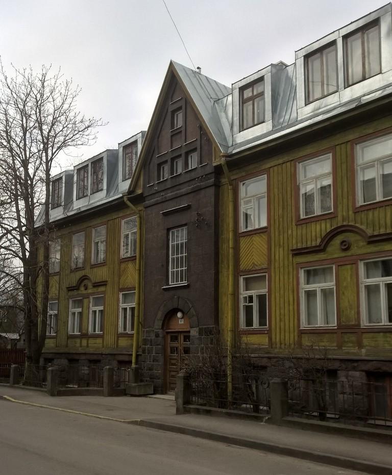 Wooden houses in Kalamaja, Tallinn | © David Hughes