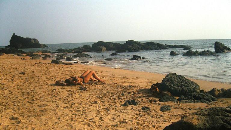 Om Beach Gokarna/wikicommons