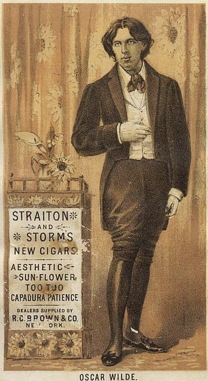Oscar Wilde Aesthetic Cigars