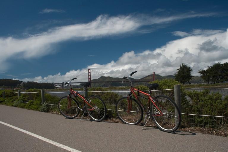 Golden Gate & Bikes