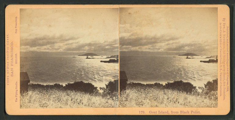 Goat Island, photographed from Black Point