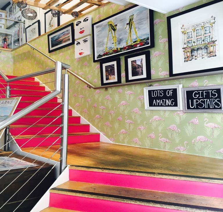 Heading Upstairs | ©Jasmine McCrory