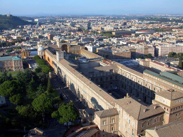 The Palace of The Vatican | © F. Bucher/WikiCommons