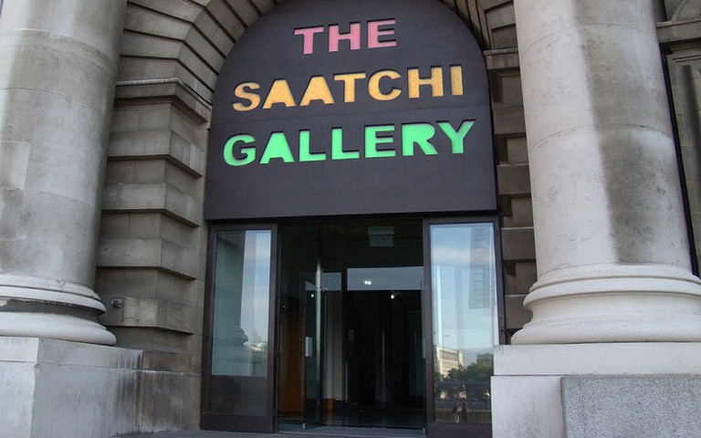 Saatchi Gallery via Mark Hardie/Flickr