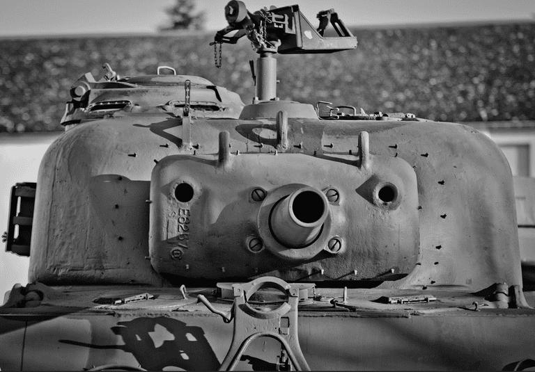 Sherman at Heintz Barracks, Bastogne | Archangel12/Flickr
