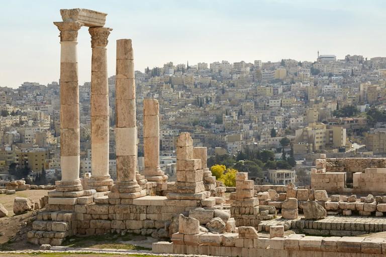 Temple of Hercules Amman Citadel, Jordan