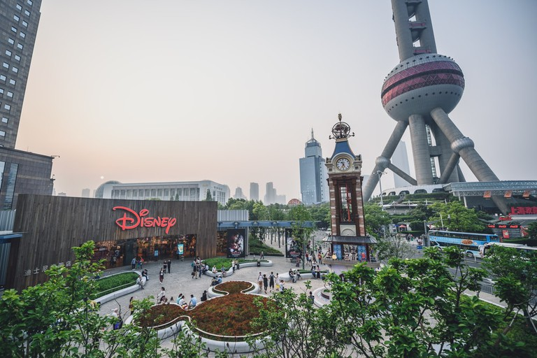 Disney Toy Store in Shanghai, China