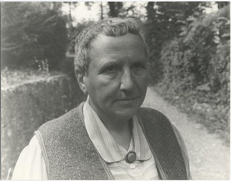 Gertrude Stein, 1934 | © Carl Van Vechten (https://commons.wikimedia.org/wiki/File:Stein,_Gertrude_1934.jpg)