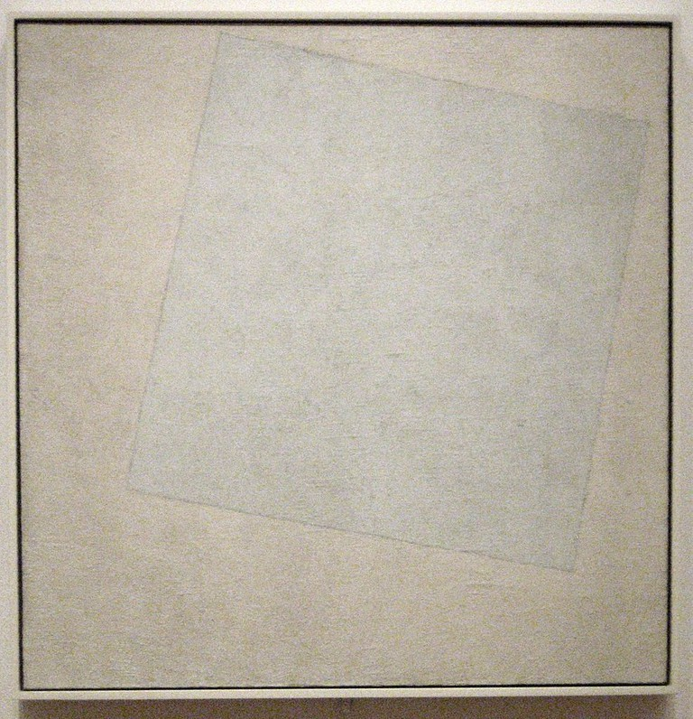 Kazimir Malevich, Suprematist Composition: White on White, 79.4 x 79.4 cm, Museum of Modern Art, 1918 | © Wmpearl/WikiCommons