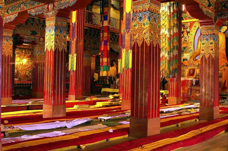 Tawang Monastery Assembly Hall | © Giridhar Appaji Nag/Flickr