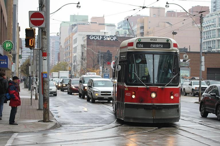 TTC streetcar 4133