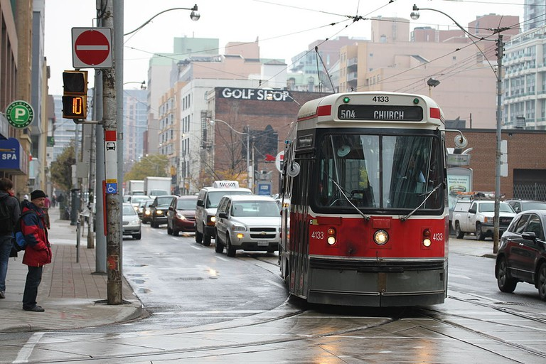 TTC streetcar 4133 | © Danielle Scott/Wikicommons