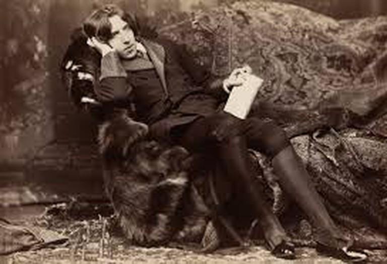 Oscar Wilde with Poems