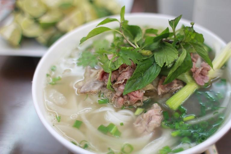 A delicious Vietnamese fish soup