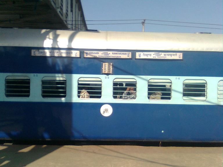 Vivek Express- Dibrugarh to Kanyakumari|© Wikicommons
