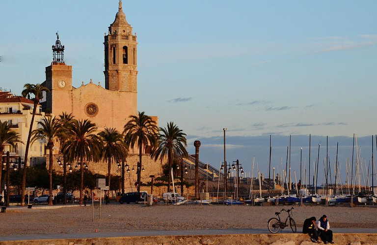 The church at Sitges | © MARIA ROSA FERRE ✿ / WikiCommons