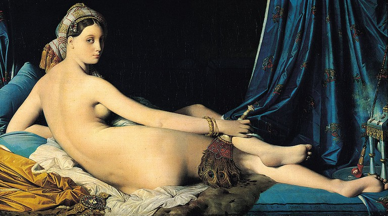 Ingres, The Grande Odalisque, 1814 | © Musée du Louvre/WikiCommons