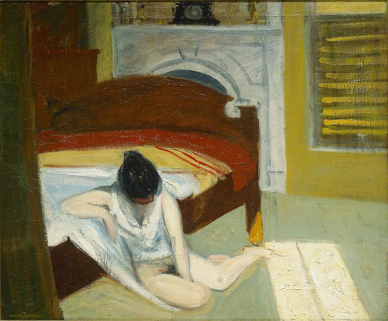 """Summer Interior"" by Edward Hopper 