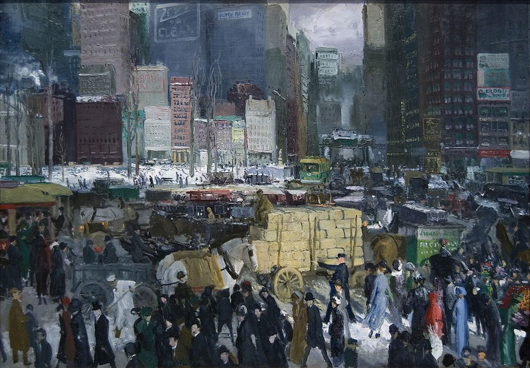"""New York"" by George Bellows 