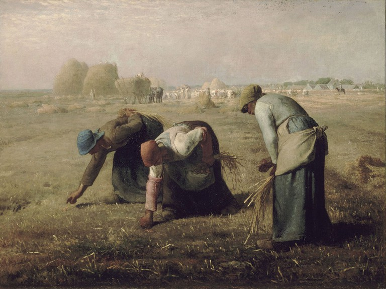 """Gleaners"" by Jean-François Millet 